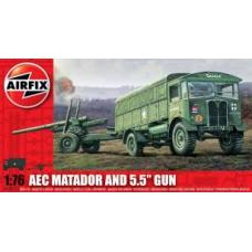 Airfix A01314 AEC Matador & Gun