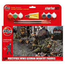 Airfix A55210 Multipose WW11 German Infantry Figures
