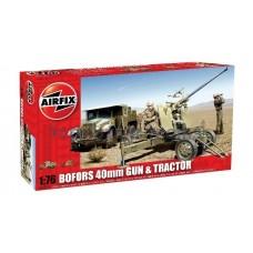 Airfix A02314 Bofors 40mm Gun & Tractor
