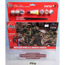 Airfix A55212 Multipose WW11 US Infantry Figures