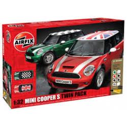 Airfix A50126 Mini Cooper S Twin Pack